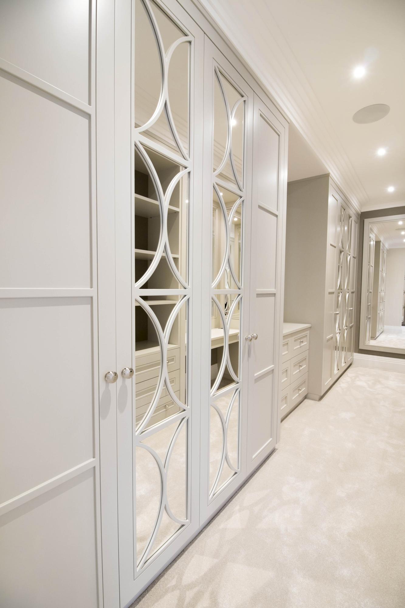 mirrored wardrobe